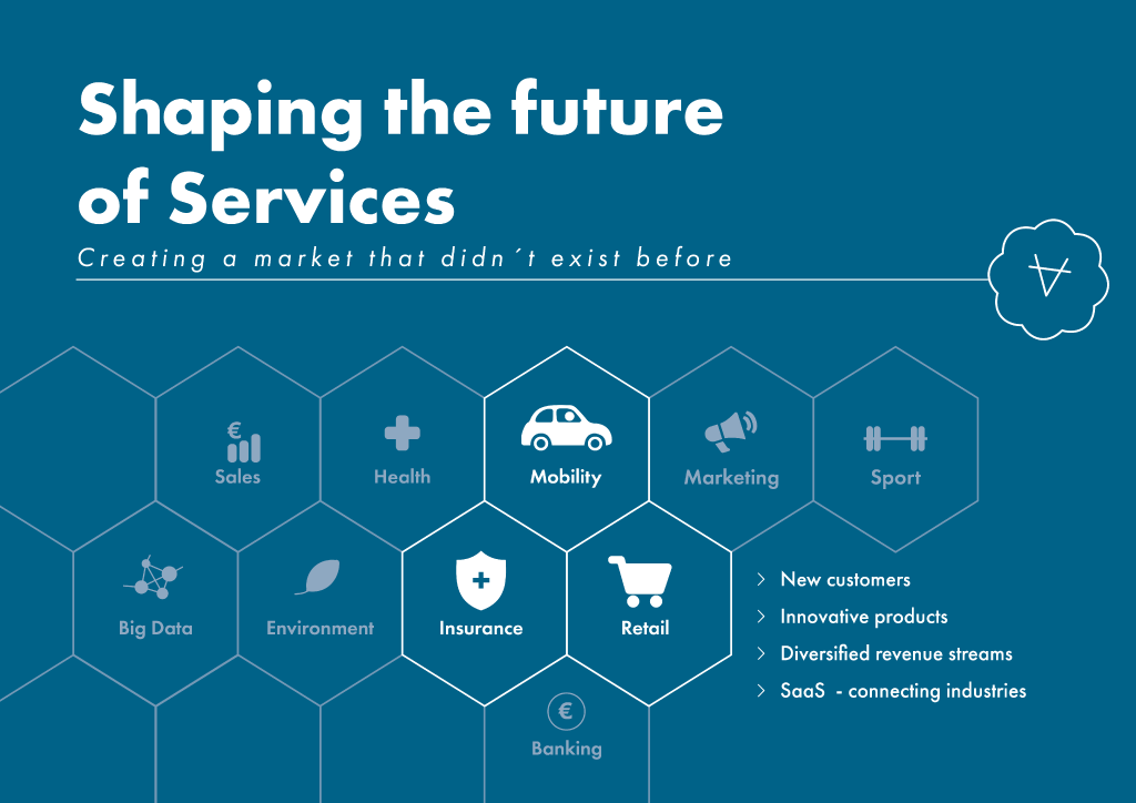 Shaping the future of services illustration